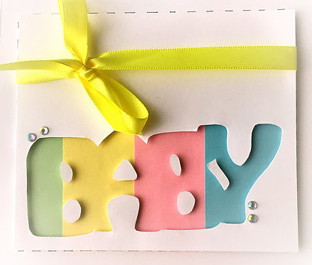 Baby Handmade Card