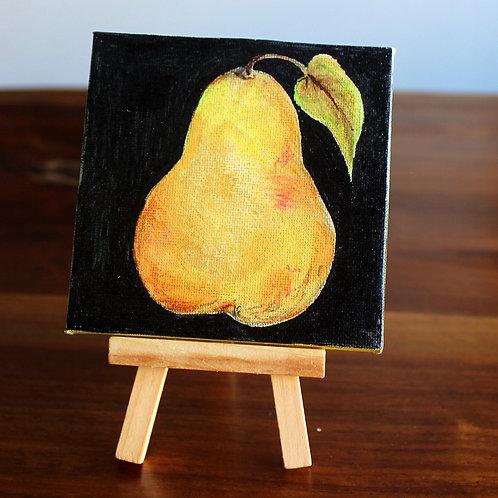 Pear Tiny Canvas