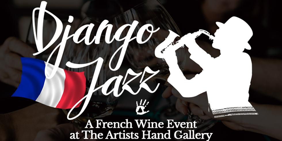 Django Jazz: A French Wine Event