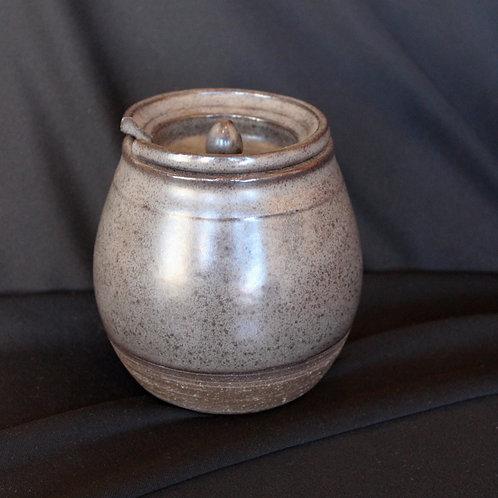 Gray Jam Jar