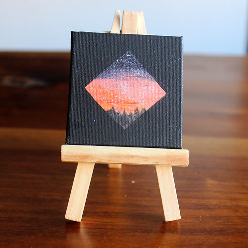 Twilight Tiny Canvas