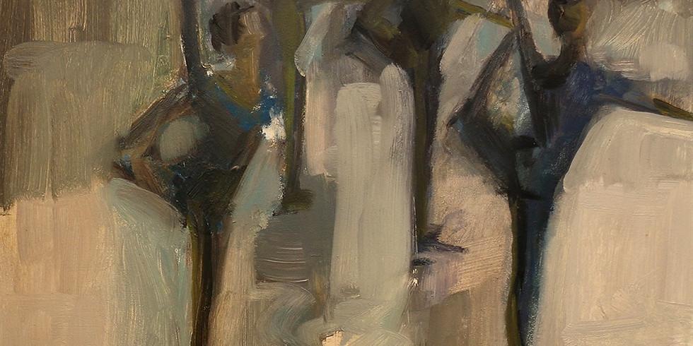 "Public Reception :  Mandi Moerland's ""Painting the Dance"""