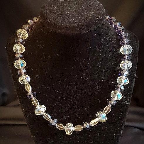 Swarovski Deep Purple Necklace