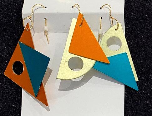 Transverse Line Earrings 2
