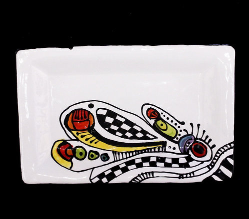 Funky Design Plate