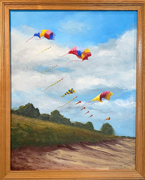 Kites Over Presque Isle