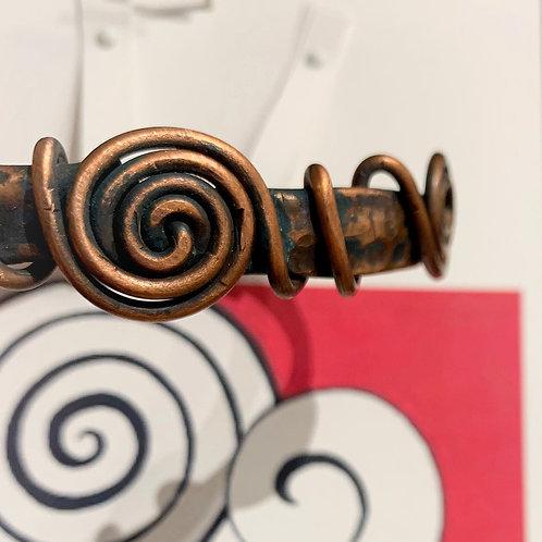 Two Spirals Bracelet