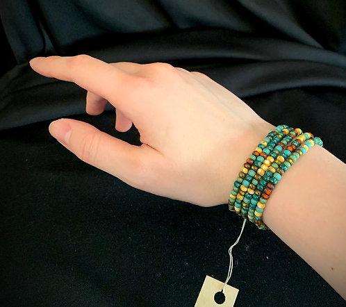 Petite Multicolor Blues Bracelet