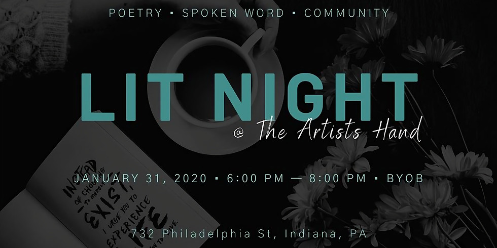 Lit Night @ The Artists Hand