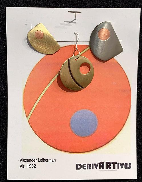 Air Earrings, 1962