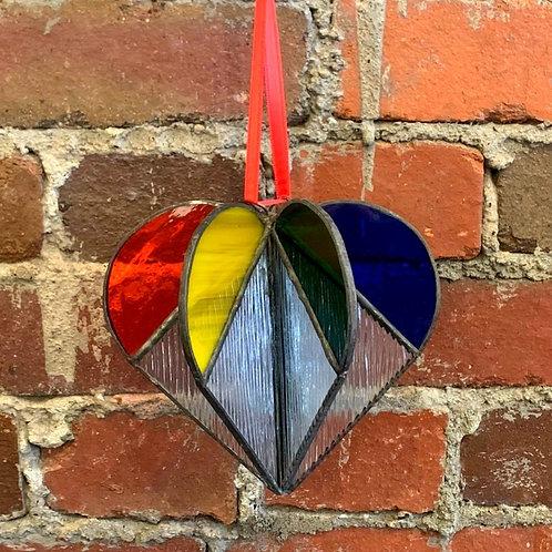 Balloon Rainbow Heart