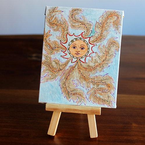 Sun Tiny Canvas