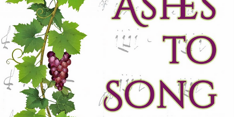From Ashes to Song Book Signing