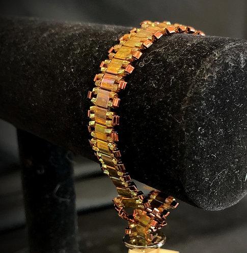 Gold Art Nouveau Bracelet