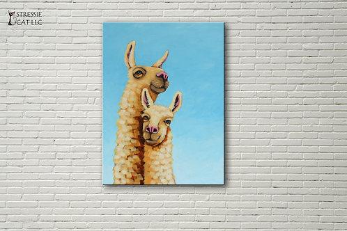 Llama and Mama