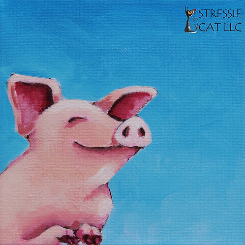 The Happiest Pig