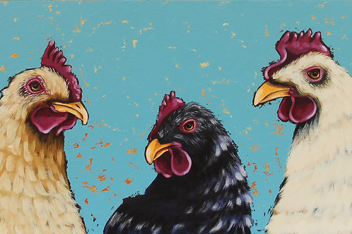 The Three Chickens