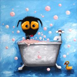 STRESSIE CAT BATHTIME