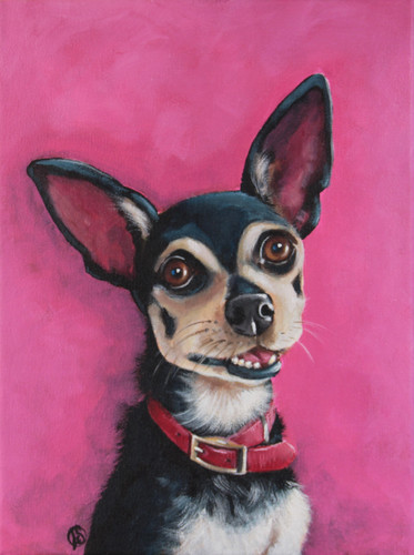 CHIHUAHUA PRETTY IN PINK