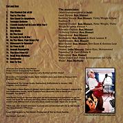 cut and run ron mozart album back cover
