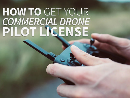 How to Get Your Commercial Drone Pilot License (Part 107 Certification)