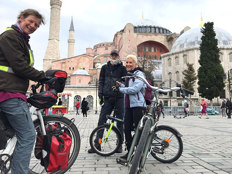 Bisiklet Gezginlerini Davet Ediyoruz / We Invite Bicycle Travelers.