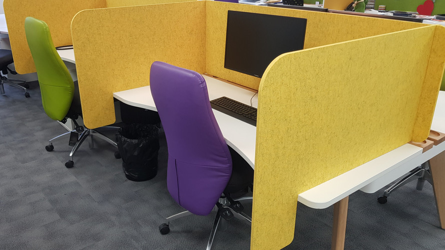 Arc desk top screen sets U and L shape w