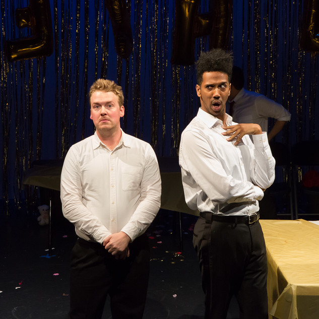 BRIDESHEAD OBLITERATED by Lee LeBreton. Directed by Dan Rogers. Photo by Hunter Canning.