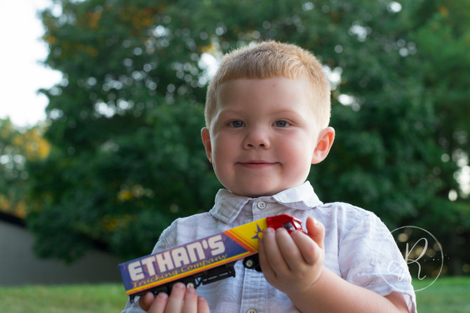 Ethan is Three! | Frederick MD Children's Mini Photo Session