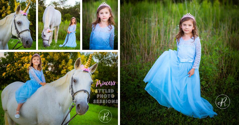 Unicorn Princess Photo Sessions in Maryland