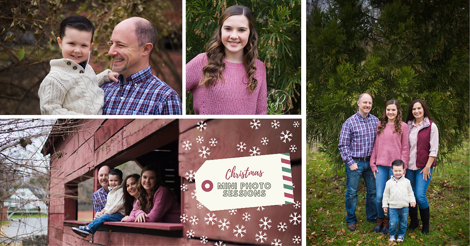 Christmas Mini Photo Sessions in Frederick MD