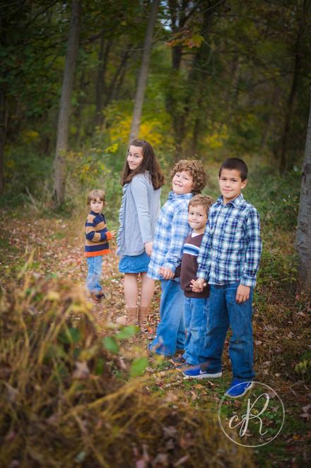 On Location Fall Family Photos