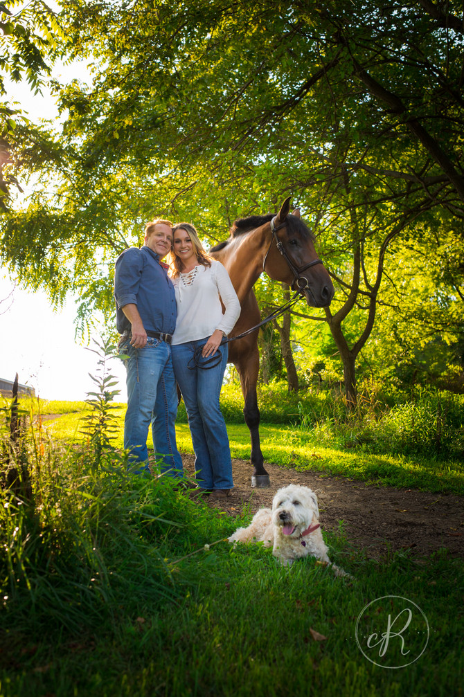 Engagement Photos: Fine Idea Farm with Carly and Landon
