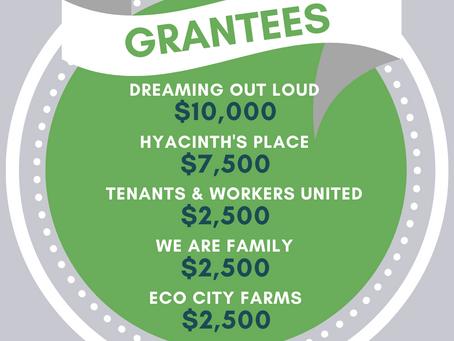 2020 Grantees!