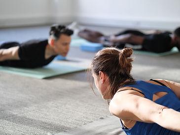 Yoga Class At The Hub 2