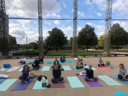 Yoga at The Hanger
