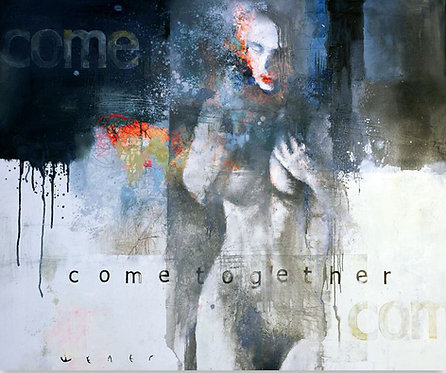 Come together 120x100cm