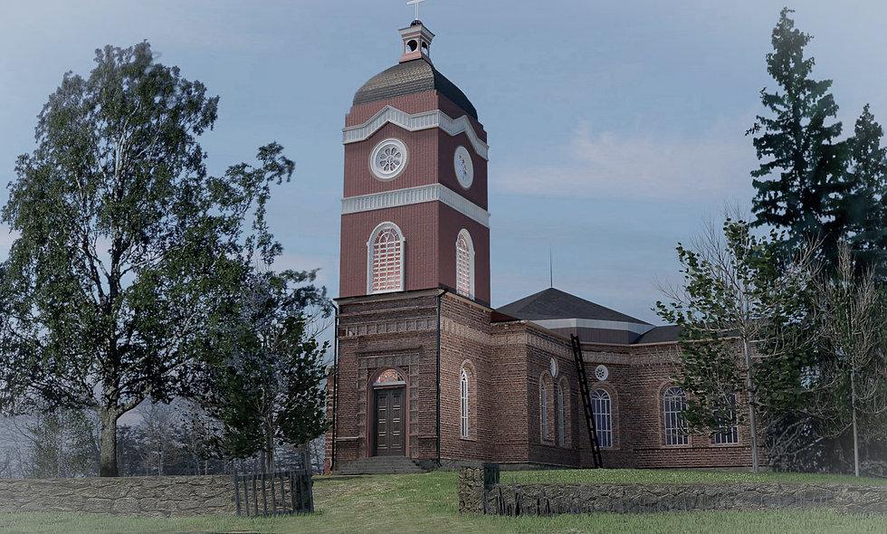 Jaakkiman kirkko, Lahdenpohja