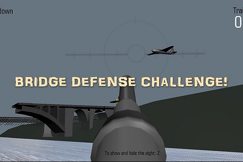 Bridge defence video game for PC .Download, unzip and click the play