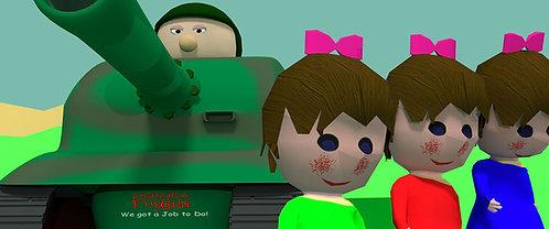 ToyGun,  cartoon style game for windows