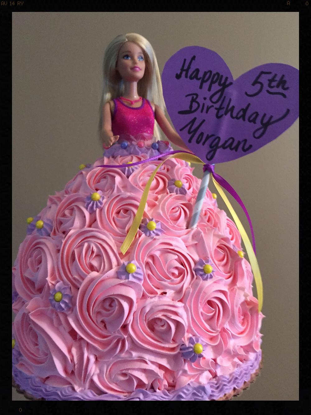 "Barbie ""Doll"" Cake"