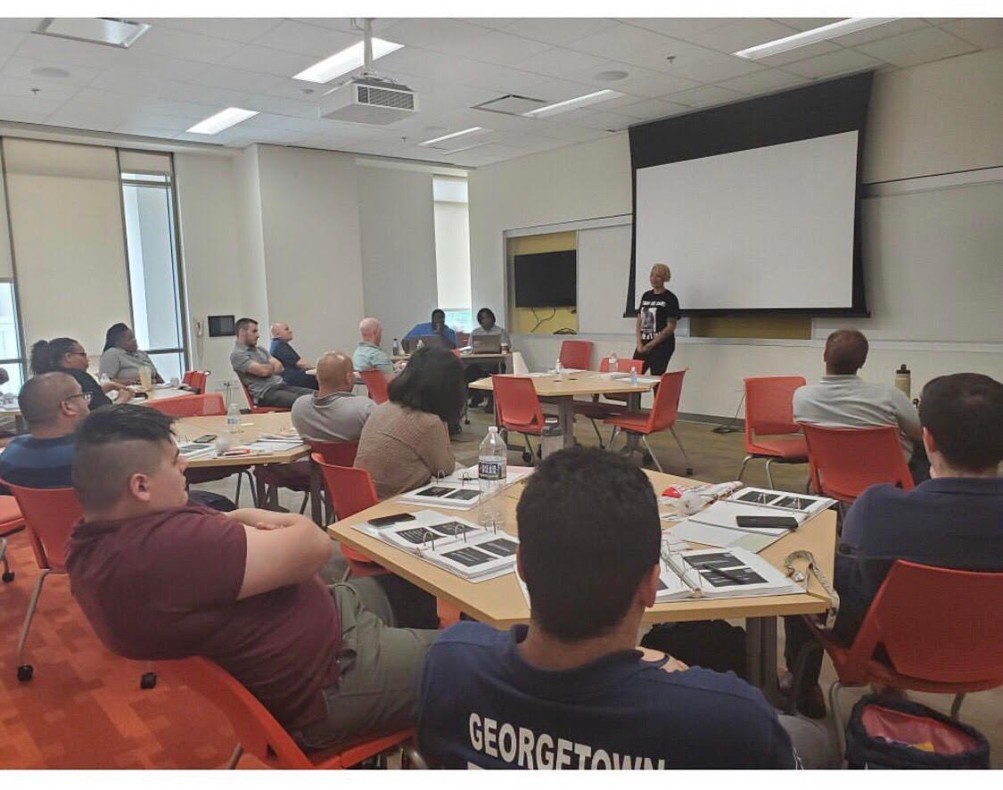 American University Crisis intervention training
