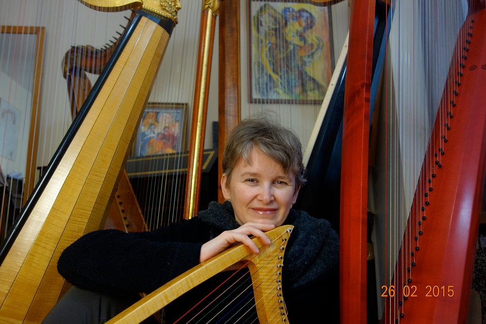 Veronique Musson-Gonneaud, harpes anciennes France