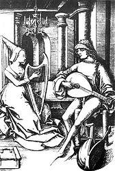 harpe et luth 16e