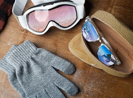 5 raisons de porter ses lunettes solaires en hiver/5 redenen om in de winter een zonnebril te dragen