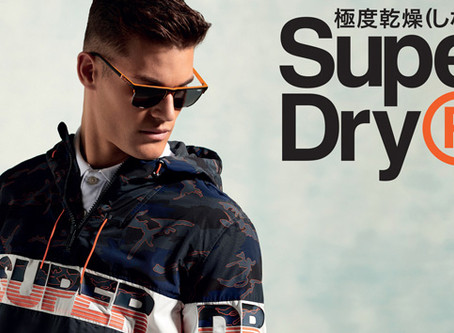 Nouvelle collection : SUPERDRY / Nieuwe collectie : SUPERDRY