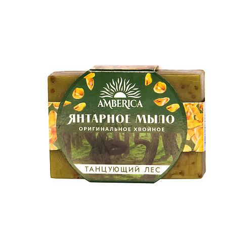 "Мыло брусок 80 гр  Хвойное ""Танцующий лес"""