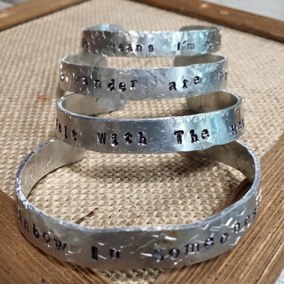 Stamped Cuff Bracelet - Wed. April 21st