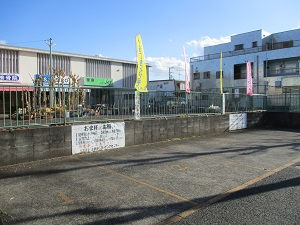 上飯田SCは駐車場完備