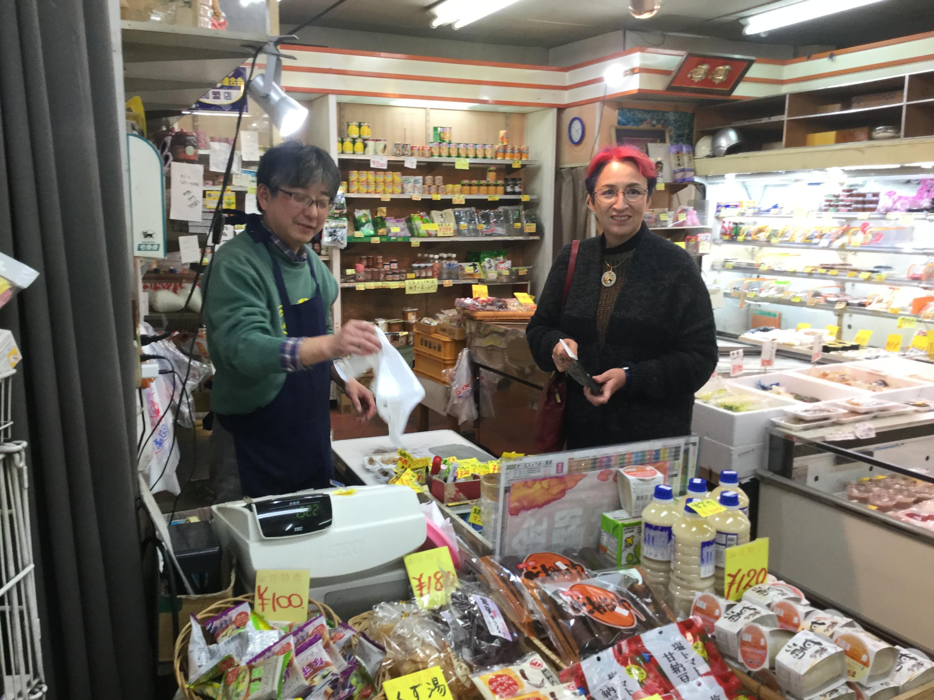 季刊誌「横濱」の取材で荻野アンナさんが取材に来てくれました!
